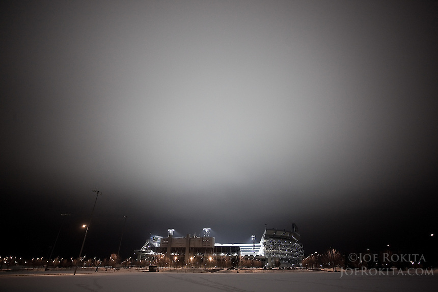 Beaver Stadium Lit in Memorial for Joe