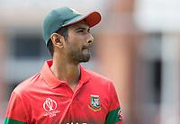 Mahmudullah (Bangladesh) during Pakistan vs Bangladesh, ICC World Cup Cricket at Lord's Cricket Ground on 5th July 2019
