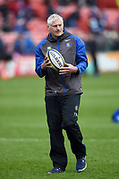 Bath Director of Rugby Todd Blackadder looks on during the pre-match warm-up. Anglo-Welsh Cup Final, between Bath Rugby and Exeter Chiefs on March 30, 2018 at Kingsholm Stadium in Gloucester, England. Photo by: Patrick Khachfe / Onside Images