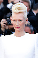 "Tilda Swinton at the ""Okja"" premiere during the 70th Cannes Film Festival at the Palais des Festivals on May 19, 2017 in Cannes, France. (c) John Rasimus /MediaPunch ***FRANCE, SWEDEN, NORWAY, DENARK, FINLAND, USA, CZECH REPUBLIC, SOUTH AMERICA ONLY***"