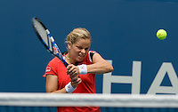 Kim Clijsters (Bel) against  Viktoriya Kutuzova (UKR) in the first round. Clijsters beat KutuZova 6-1 6-1..International Tennis - US Open - Day 1 Mon 31 Aug 2009 - USTA Billie Jean King National Tennis Center - Flushing - New York - USA ..Frey,  Advantage Media Network, Barry House, 20-22 Worple Road, London, SW19 4DH