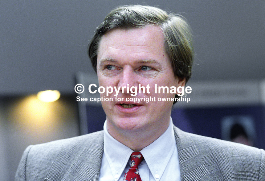 Graham Allen, MP, Labour Party, UK, taken annual conference October 1992. 19921024GA.<br /> <br /> Copyright Image from Victor Patterson, 54 Dorchester Park, Belfast, UK, BT9 6RJ<br /> <br /> t: +44 28 90661296<br /> m: +44 7802 353836<br /> vm: +44 20 88167153<br /> e1: victorpatterson@me.com<br /> e2: victorpatterson@gmail.com<br /> <br /> For my Terms and Conditions of Use go to www.victorpatterson.com