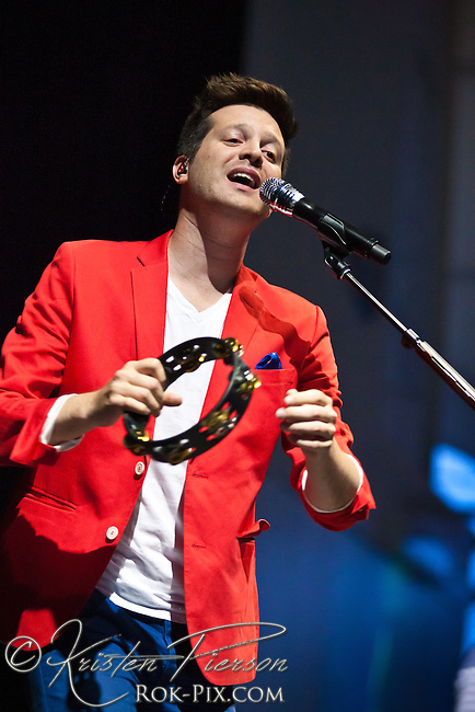 Mayer Hawthorne performs at Bank of America Pavilion in Boston, Massachusetts August 1, 2013