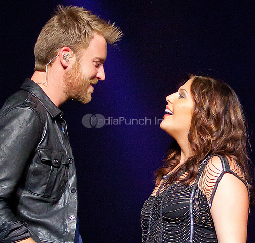 Lady Antebellum performs during the 'Own The Night Tour' at The Joint at Hard Rock Hotel & Casino in Las Vegas, NV on November 18, 2011. © Erik Kabik / MediaPunch.***HOUSE COVERAGE***