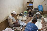 Afrique/Afrique du Nord/Maroc/Fèz: Dans la médina de Fèz-El-Bali détail filature