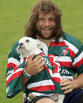 240215 Martin Castrogiovanni and his dog