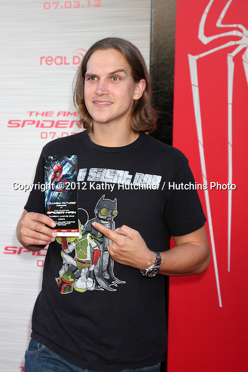 """LOS ANGELES - JUN 28:  Jason Mewes arrives at the """"The Amazing Spider-Man"""" Premiere at Village Theater on June 28, 2012 in Westwood, CA"""