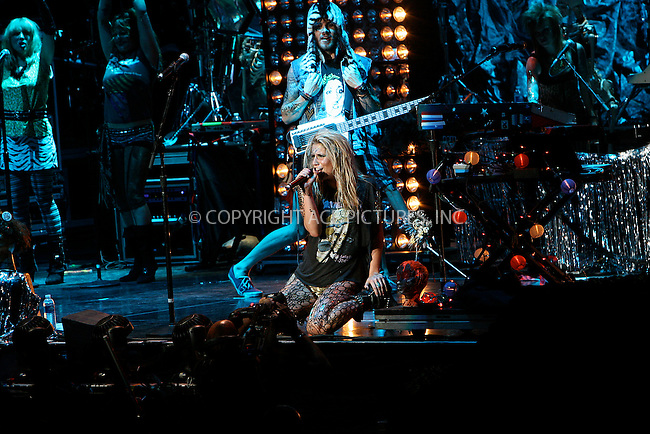 WWW.ACEPIXS.COM . . . . .  ....August 12 2010, New York City....Singer Ke$ha performs at Madison Square Garden on August 12, 2010 in New York City. ....Please byline: NANCY RIVERA- ACEPIXS.COM.... *** ***..Ace Pictures, Inc:  ..Tel: 646 769 0430..e-mail: info@acepixs.com..web: http://www.acepixs.com