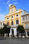 Nineteenth century Town hall Ayuntamiento building, Merida, Extremadura, Spain
