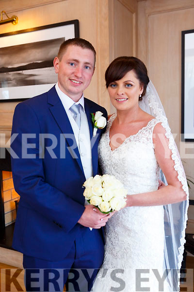 Katie O'Rahilly and Karl O'Leary were married at the Church of the Immaculate conception on Saturday 28th Octomer 2017 with a reception at Ballygarry House