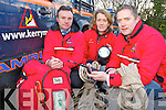Kerry Mountain Rescue Team members Lorcan McDonnell, Margaret O'Driscoll and Damien Courtney who are asking walkers to take care on the Kerry hills over the festive season...
