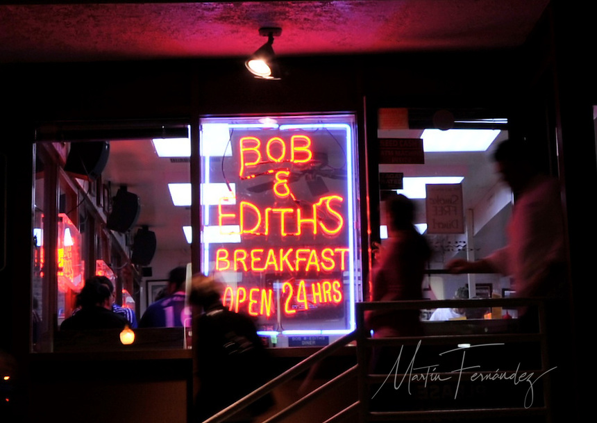 Although the surroundings have changed, Bob & Edith's Diner has remained the same for nearly 42 years. A staple in Arlington, VA, three generations of Bolton's have been serving food 24 hours a day to hungry customers from around the Washington D.C. Metropolitan Area.
