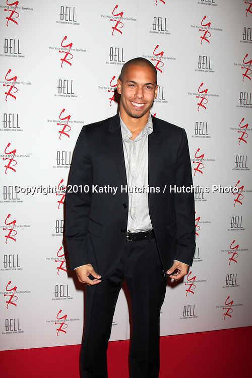 Bryton James.arrivng at The Young & The Restless 37th Anniversary Dinner.Via Allorro.Beverly Hills, CA.March 9, 2010.©2010 Kathy Hutchins / Hutchins Photo....