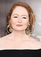 HOLLYWOOD, CA - AUGUST 07: Actress Miranda Otto attends the premiere of New Line Cinema's 'Annabelle: Creation' at TCL Chinese Theatre IMAX on August 07, 2017 in Los Angeles, California.<br /> CAP/ROT/TM<br /> &copy;TM/ROT/Capital Pictures