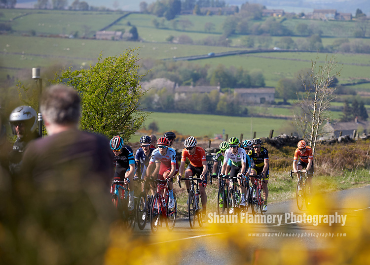 Picture by Shaun Flannery/SWpix.com - 06/05/2018 - Cycling - 2018 Tour de Yorkshire - Stage 4: Halifax - Leeds - Yorkshire, England<br /> <br /> Team Rally