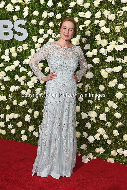Jennifer Ehle attends the 71st Annual  Tony Awards on June 11, 2017 at Radio City Music Hall in New York, New York, USA.<br /> <br /> photo by Robin Platzer/Twin Images<br />  <br /> phone number 212-935-0770