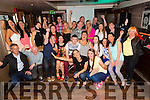 Sinead Fitzgerald, St. Brendan's Park, celebrating her 40th birthday with family and friends at the Abbey Inn on Saturday
