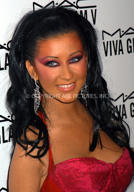 Christina Aguilera at launch party for M.A.C. AIDS Fund. New York, February 11, 2004. Please byline: AJ SOKALNER/ACE Pictures.   ..*PAY-PER-USE*      ....IMPORTANT: Please note that our old trade name, NEW YORK PHOTO PRESS (NYPP), is replaced by new name, ACE PICTURES. New York Photo Press and ACE Pictures are owned by All Celebrity Entertainment, Inc.......All Celebrity Entertainment, Inc:  ..contact: Alecsey Boldeskul (646) 267-6913 ..Philip Vaughan (646) 769-0430..e-mail: info@nyphotopress.com