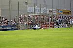 Tor für Andis Shala (VfR Mannheim) daneben Janis Crone (SVW Mannheim) in der Oberliga 2007/08 VfR Mannheim vs. SV Waldhof/Mannheim. Foto © Rhein-Neckar-Picture *** Foto ist honorarpflichtig! *** Auf Anfrage in höherer Qualität/Auflösung. Belegexemplar erbeten.