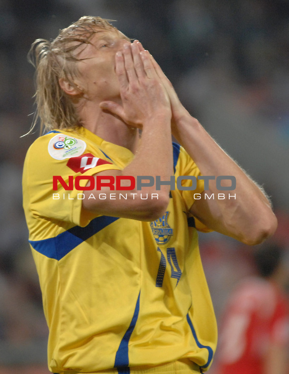 FIFA WM 2006 -  Round of Sixteen - / Viertelfinale <br /> Play    #54  (26. Juni ) Schweiz - Ukraine<br /> <br /> Andrij Gusin (UKR)<br /> <br /> Foto &copy; nordphoto