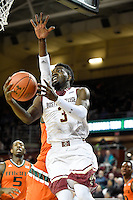 NCAA Basketball 2016- Miami vs Boston College JAN 20