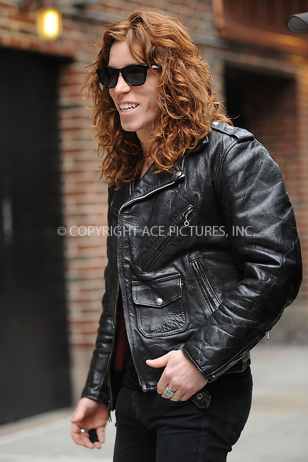 WWW.ACEPIXS.COM . . . . . ....February 2 2010, New York City....Snowboarder Shaun White made an appearance at 'The Late Show with David Letterman' on February 2 2010 in New York City....Please byline: KRISTIN CALLAHAN - ACEPIXS.COM.. . . . . . ..Ace Pictures, Inc:  ..tel: (212) 243 8787 or (646) 769 0430..e-mail: info@acepixs.com..web: http://www.acepixs.com