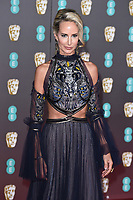 Victoria Hervey<br /> arriving for the BAFTA Film Awards 2020 at the Royal Albert Hall, London.<br /> <br /> ©Ash Knotek  D3554 02/02/2020