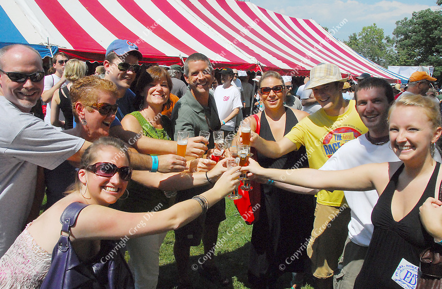 Great Taste of the Midwest Beer Festival in Madison, Wisconsin's Olin-Turville Park Saturday, Aug. 8, 2015. (photo from 2009 festival)