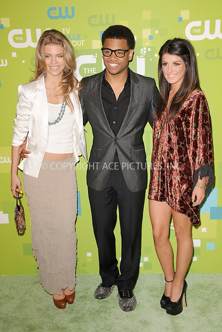 WWW.ACEPIXS.COM . . . . . .May 19, 2011...New York City....AnnaLynne McCord, Tristan Wilds and Shenae Grimes  attend the CW Network's 2011 Upfront at Jazz at Lincoln Center on May 19, 2011 in New York City.....Please byline: KRISTIN CALLAHAN - ACEPIXS.COM.. . . . . . ..Ace Pictures, Inc: ..tel: (212) 243 8787 or (646) 769 0430..e-mail: info@acepixs.com..web: http://www.acepixs.com .