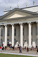 Kassel, Germany. Opening days of documenta14.<br /> Fridericianum.<br /> Banu Cennetoğlu: BEINGSAFEISSCARY, 2017
