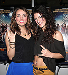 Broadway Stars Neka Zang & Tessa Alves .attending  a screening of 'Rock Of Ages' at the Regal E-Walk Stadium Theaters in New York City on June 11, 2012.