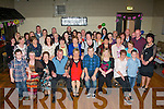 Margaret McCarthy,Rock Pk Av,Tralee got the surprise of her life when she went to the Austin Stack's GAA clubhouse,Tralee for a little tipple for her 60th birthday last Saturday night,only to find her loving family had organised a huge party of neighbours and friends to help her celebrate.