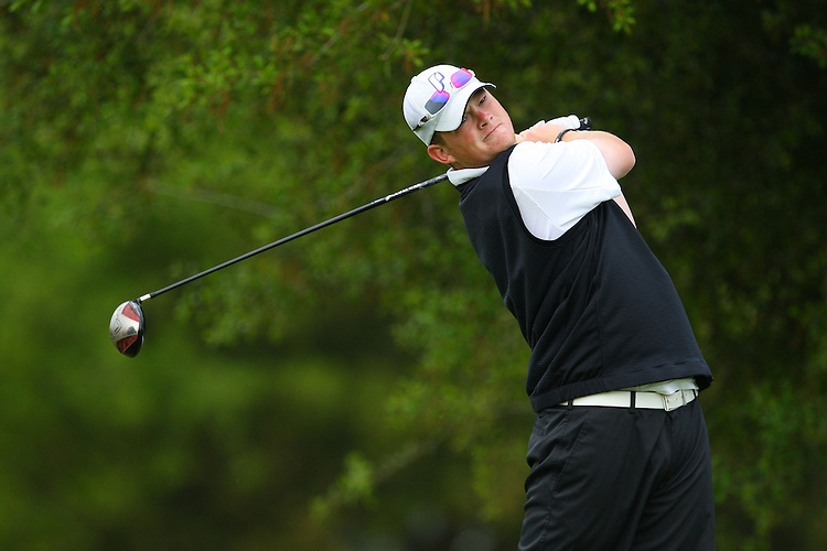 April 18, 2011; Hollister, CA, USA; Portland Pilots golfer Jake Wagner during the WCC Golf Championships at San Juan Oaks Golf Club.
