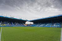 Interior view of the stadium during the Sky Bet Championship match between Sheffield Wednesday and Swansea City at Hillsborough Stadium, Sheffield, England, UK. Saturday 09 November 2019