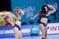 23rd Men's Handball World Championship cheerleaders.January 14,2013. (ALTERPHOTOS/Acero) 7NortePhoto