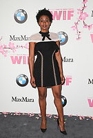 BEVERLY HILLS, CA June 13- Emayatzy Corinealdi, at Women In Film 2017 Crystal + Lucy Awards presented by Max Mara and BMWGayle Nachlis at The Beverly Hilton Hotel, California on June 13, 2017. Credit: Faye Sadou/MediaPunch