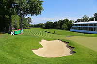 Wentworths 18th green and fairway during the BMW PGA Golf Championship at Wentworth Golf Course, Wentworth Drive, Virginia Water, England on 27 May 2017. Photo by Steve McCarthy/PRiME Media Images.