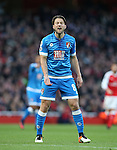 Bournemouth's Harry Arter in action during the Premier League match at the Emirates Stadium, London. Picture date October 26th, 2016 Pic David Klein/Sportimage