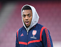 27th January 2020; Vitality Stadium, Bournemouth, Dorset, England; English FA Cup Football, Bournemouth Athletic versus Arsenal; Joe Willock of Arsenal arrives at Vitatilty Stadium