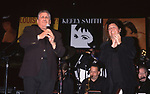 Keely Smith with her husband Bobby Milano performing her show 'The Queen of Swing is Back!' at Irving Plaza on June 14, 2000 in New York City.