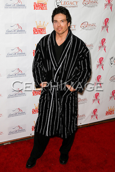 JASON GEDRICK.  Decked out in pajamas, celebrities arrive to Bowling After Dark, an event to benefit the Carol M. Baldwin Breast Cancer Research Fund, at Pinz Bowling Center in Studio City, CA, USA. February 13, 2010.