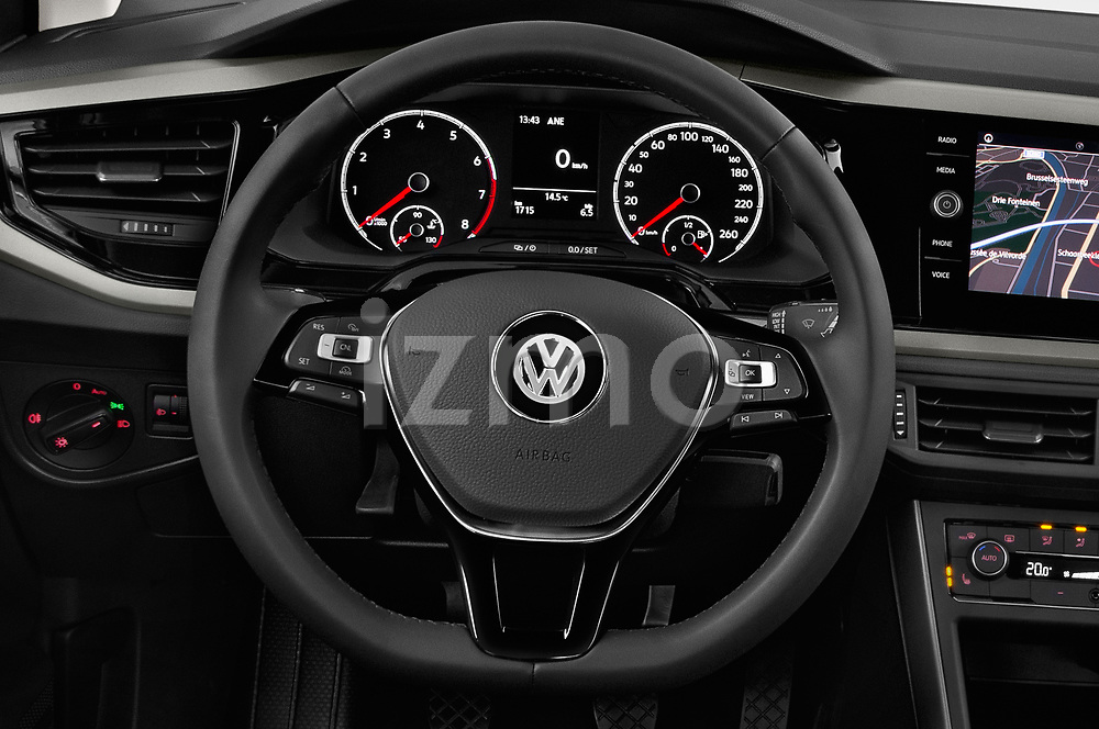 Car pictures of steering wheel view of a 2019 Volkswagen Beetle S 5 Door Hatchback