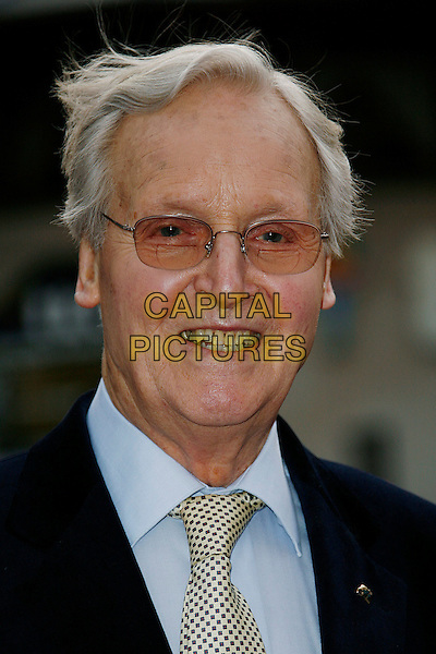 "NICHOLAS PARSONS.World Premiere of ""Three and Out"" at the Odeon Leicester Square, London, England, April 21st 2008.3 portrait headshot glasses .CAP/DAR.©Darwin/Capital Pictures"