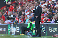 Swansea City manager Carlos Carvalhal during the Premier League match between AFC Bournemouth and Swansea City at Vitality Stadium in Bournemouth, England, UK. Saturday 05 May 2018