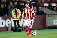 Xherdan Shaqiri of Stoke City during West Ham United vs Stoke City, Premier League Football at The London Stadium on 16th April 2018