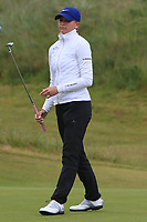 Daniella Barrett (FIN) on the 16th green during Matchplay Semi-Finals of the Women's Amateur Championship at Royal County Down Golf Club in Newcastle Co. Down on Saturday 15th June 2019.<br /> Picture:  Thos Caffrey / www.golffile.ie