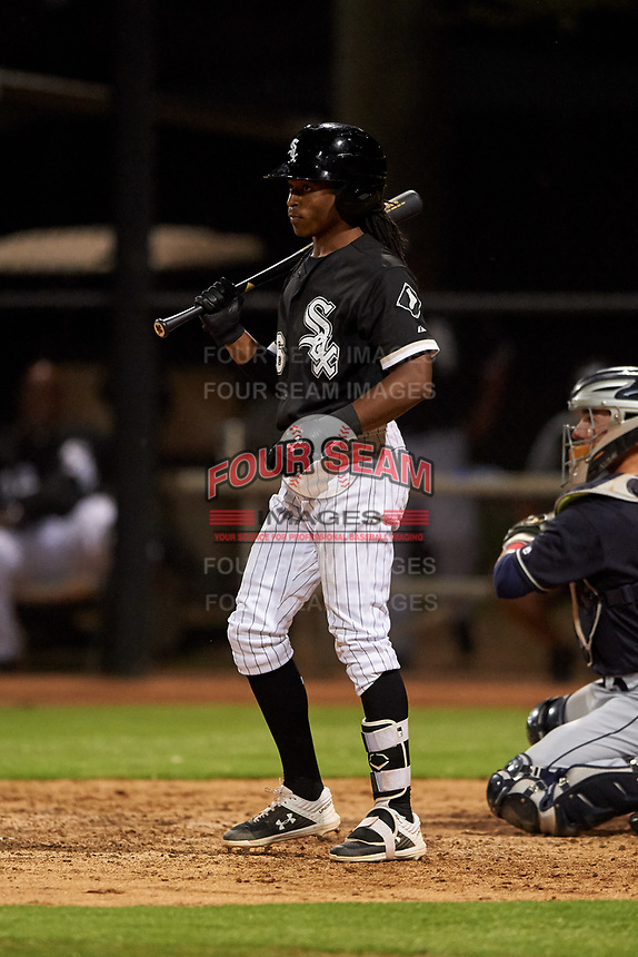 AZL White Sox James Beard (6) at bat during an Arizona League game against the AZL Indians Blue on July 2, 2019 at Camelback Ranch in Goodyear, Arizona. AZL Indians Blue defeated the AZL White Sox 10-8. (Zachary Lucy/Four Seam Images)
