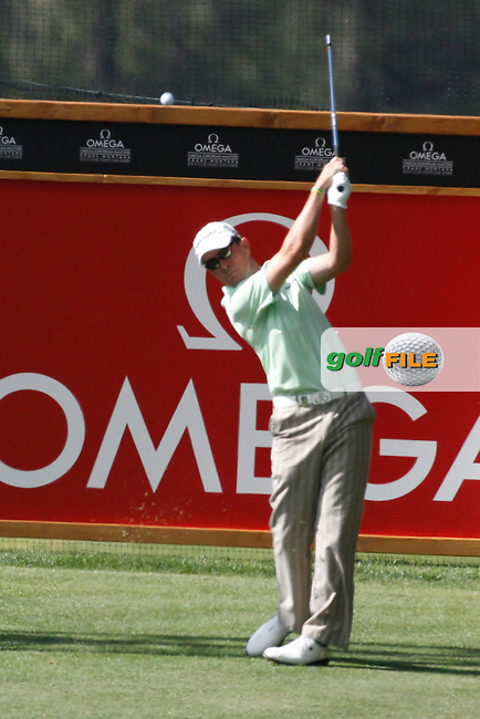 Matthew Zions (AUS) on the 13th on the 1st day of the Omega European Masters, Crans-Sur-Sierre, Crans Montana, Switzerland..Picture: Golffile/Fran Caffrey..