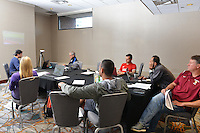 Kansas City, MO - October 13, 2016: U.S. Soccer held an A License Coaches Education course at the Downtown Marriott and Swope Park.