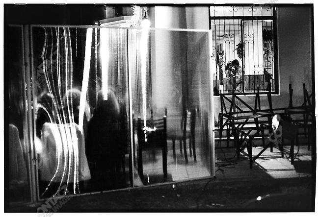 3:15 a.m., La Terraza, Buenos Aires, Argentina, March 2000